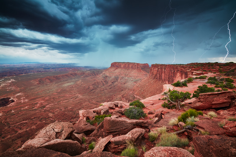Electric Canyonlands