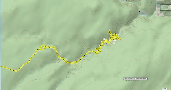 le GPS capte mal au fond des canyons