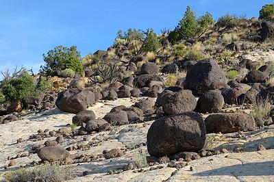 notre bien aimée route 12, et ces boulders
