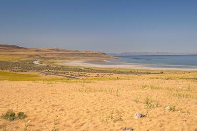Antelope est une jolie ile en face de Salt Lake City, sur le Grand Lac Salé