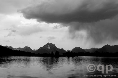 MOUNT MORAN BLACK AND WHITE