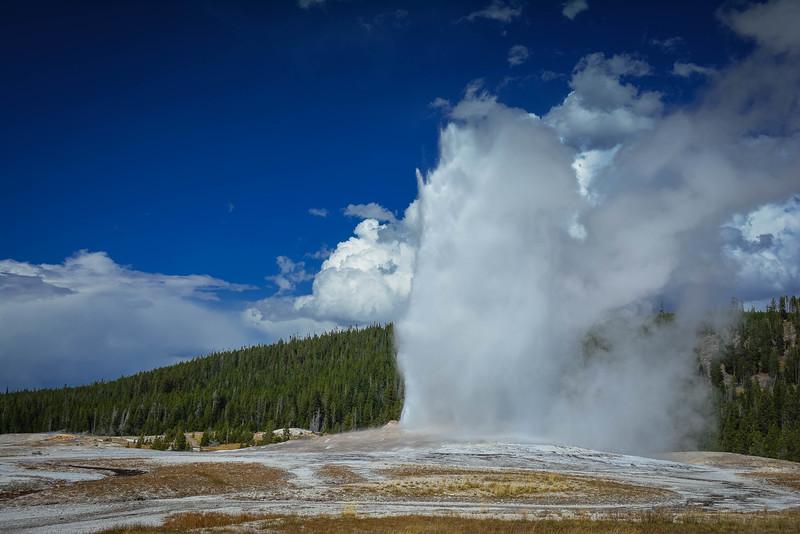 old faithful best geyser in yellowstone