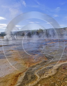 Yellowstone National Park Wyoming Biscuit Basin Hot Springs Fine Art Photography Prints - 011747 - 30-09-2012 - 6588x8376 Pixel