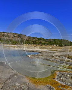 Yellowstone National Park Wyoming Biscuit Basin Hot Springs Fine Art Photography For Sale River - 011751 - 30-09-2012 - 6586x8283 Pixel