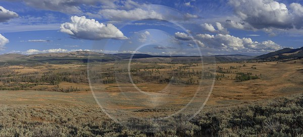 Grand Loop Road Yellowstone National Park Wyoming View Lake Order Fine Art Photography Prints - 015265 - 26-09-2014 - 15748x7153 Pixel