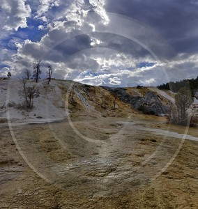 Yellowstone National Park Wyoming Mammoth Hot Springs Geyser Art Photography For Sale Art Printing - 011731 - 28-09-2012 - 7196x7600 Pixel