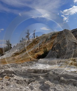 Yellowstone National Park Wyoming Mammoth Hot Springs Geyser Royalty Free Stock Images - 011727 - 28-09-2012 - 7044x8277 Pixel
