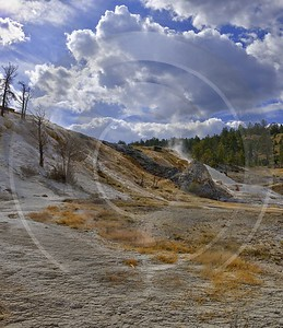 Yellowstone National Park Wyoming Mammoth Hot Springs Geyser Royalty Free Stock Images Outlook - 011723 - 28-09-2012 - 6916x8011 Pixel