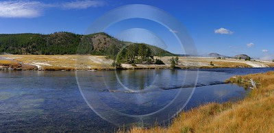 Yellowstone National Park Wyoming Midway Geyser Basin Hot What Is Fine Art Photography Ice - 011791 - 30-09-2012 - 16599x8039 Pixel