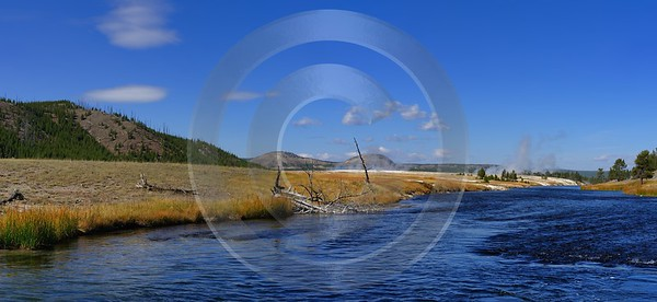 Yellowstone National Park Wyoming Midway Geyser Basin Hot Fine Art Photographer - 011802 - 30-09-2012 - 11974x5500 Pixel