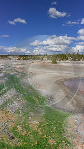 Norris Geyser Basin Trail Yellowstone National Park Wyoming Spring Fine Art Prints For Sale - 015277 - 26-09-2014 - 6698x11836 Pixel