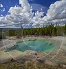 Norris Geyser Basin Trail Yellowstone National Park Wyoming Fine Art Photo Tree Photo Fine Art - 015294 - 26-09-2014 - 7254x7576 Pixel