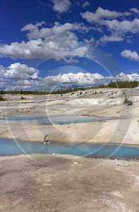 Norris Geyser Basin Trail Yellowstone National Park Wyoming Photography Prints For Sale - 015281 - 26-09-2014 - 6972x10612 Pixel
