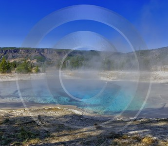 Yellowstone National Park Wyoming Upper Geyser Basin Hot Fine Art Pictures Forest - 011778 - 30-09-2012 - 7112x6192 Pixel
