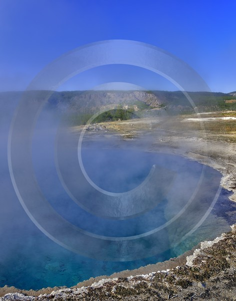Yellowstone National Park Wyoming Upper Geyser Basin Hot Sky Beach Art Photography Gallery - 011757 - 30-09-2012 - 6991x8884 Pixel