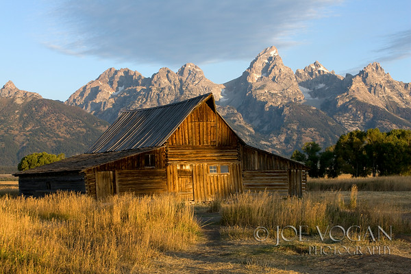 Moulton Barn, Mormon Row, Grand Teton National Park, Wyoming