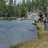 Fly fishing on the Blackfoot River, Montana<br /> <br /> This is the river from the book and film A River Runs Through It.