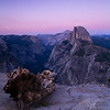 Hlaf dome view from Glacier Point.<br /> Yosemite valley, Yosemite National Park, California, USA.