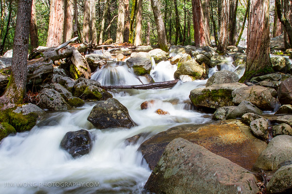 Cascades I, Yosemite National Park