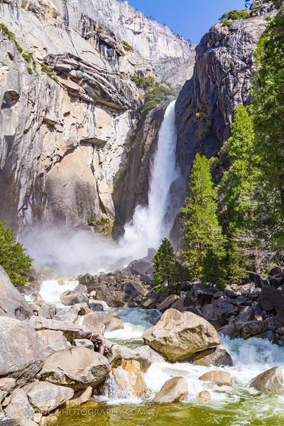 Lower Yosemite Fall, Yosemite National Park