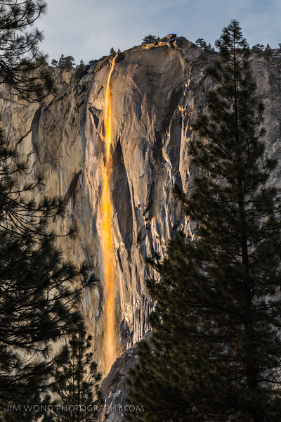 Firefall, Yosemite National Park