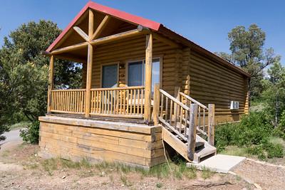 Zion Mountain Ranch: Exterior of our Buffalo Vista Cabin 2 Kings, #177