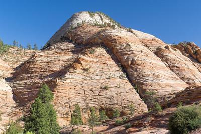 Zion NP: The Checkerboard Mesa.