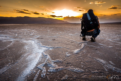 Sunset photography (Death Valley)