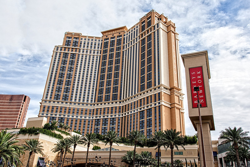 Palazzo Hotel in Las Vegas, USA