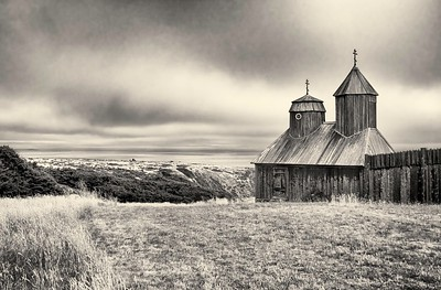 Fort Ross on a Cloudy Day
