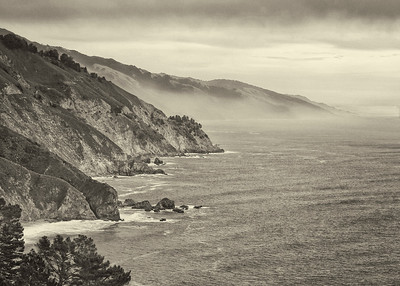Winter Big Sur