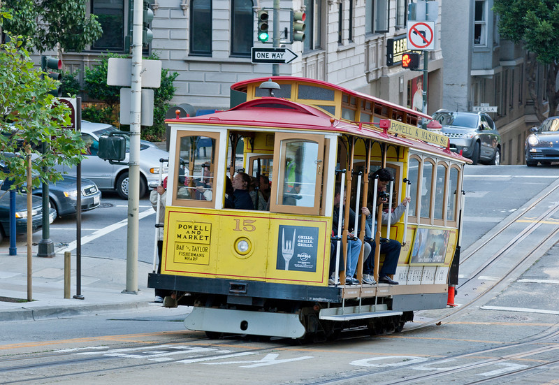 Tram in San Francisco, USA