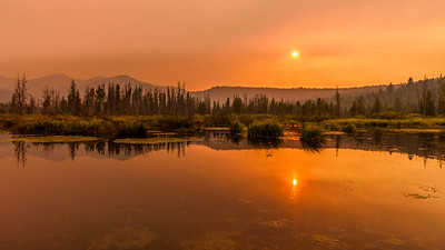 Smoke is in the Air, Stanley Lake, Idaho