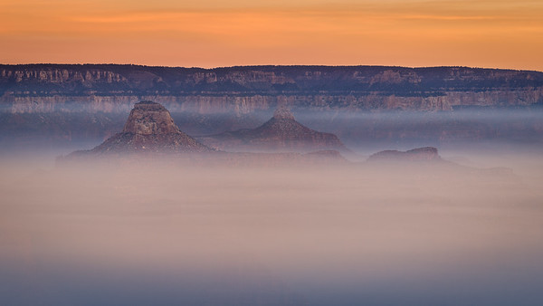 Smoke in the Grand Canyon