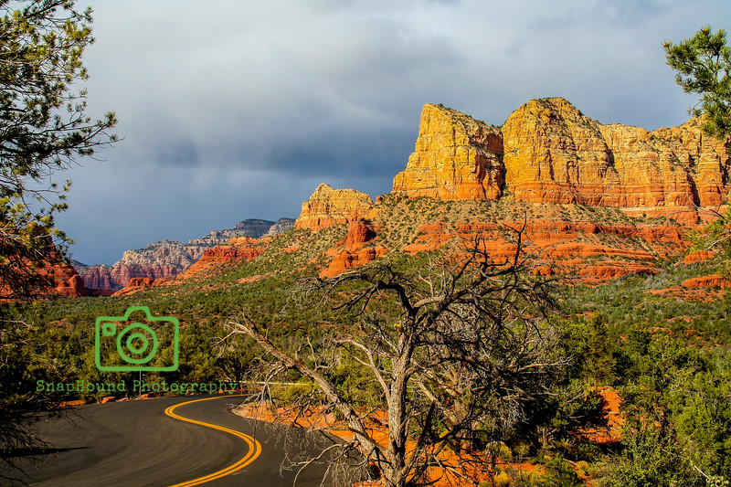 Road to Sedona, Arizona