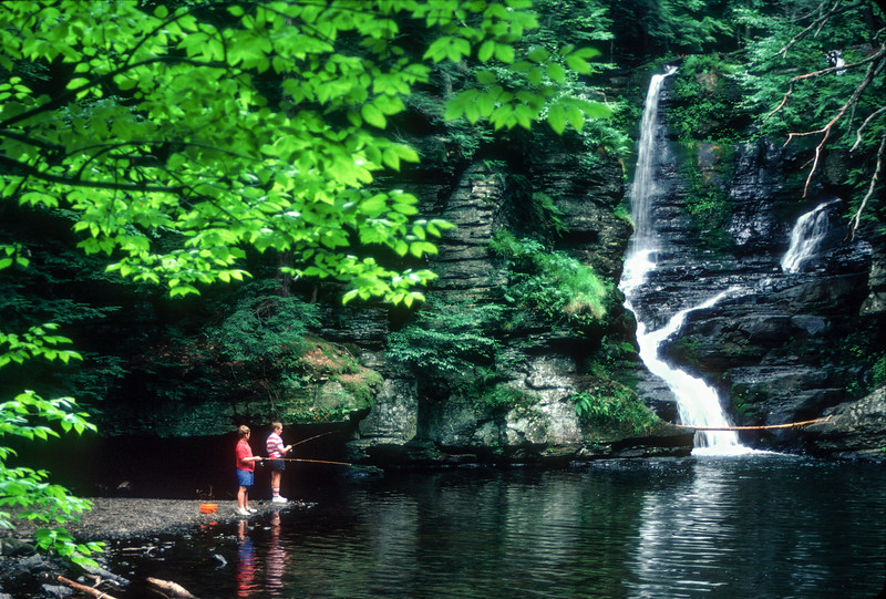 Deer Leap Falls, Delaware Water Gap National Recreation Area, Pennsylvania