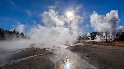 Norris Geyser Basin, Yellowstone NP, Wyoming