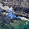 Aerial Photo of Lava Flow