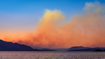 Wildfire, Grand Teton National Park, Wyoming
