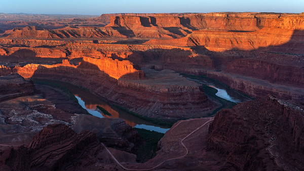 Colorado River seen from Dead Horse Point SP, Utah