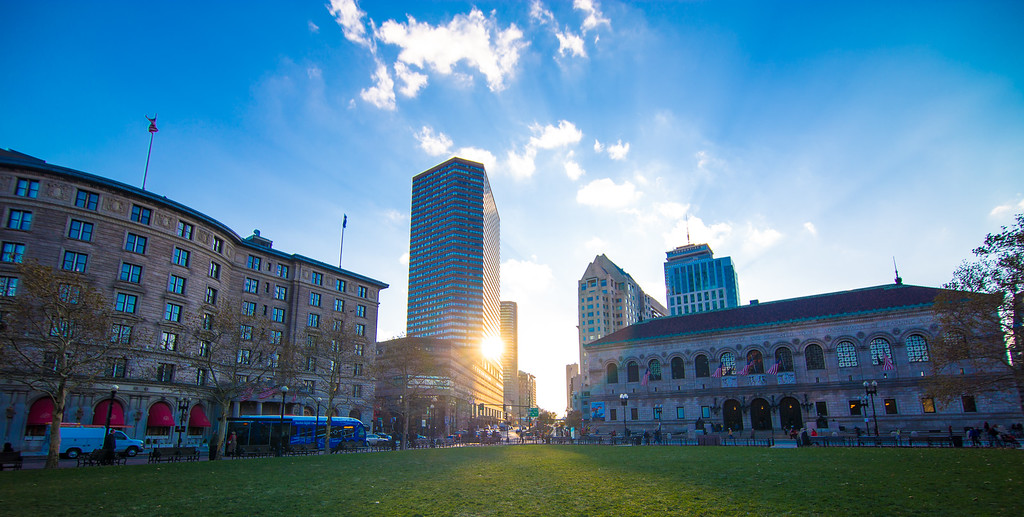 Boston Sunset