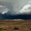 Storm coming over Lake Powell
