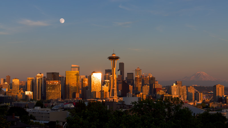 Seattle Moon