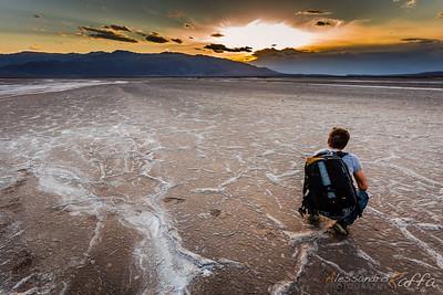 Landed on Mars (Death Valley)