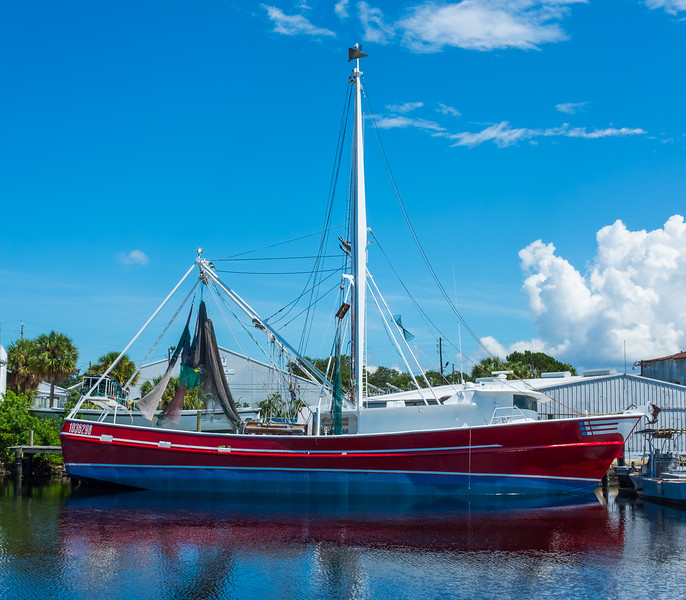 Fishing Boat - Tarpon Springs