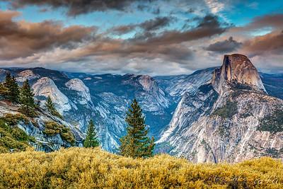 Sunset @Glacier Point (Yosemite)
