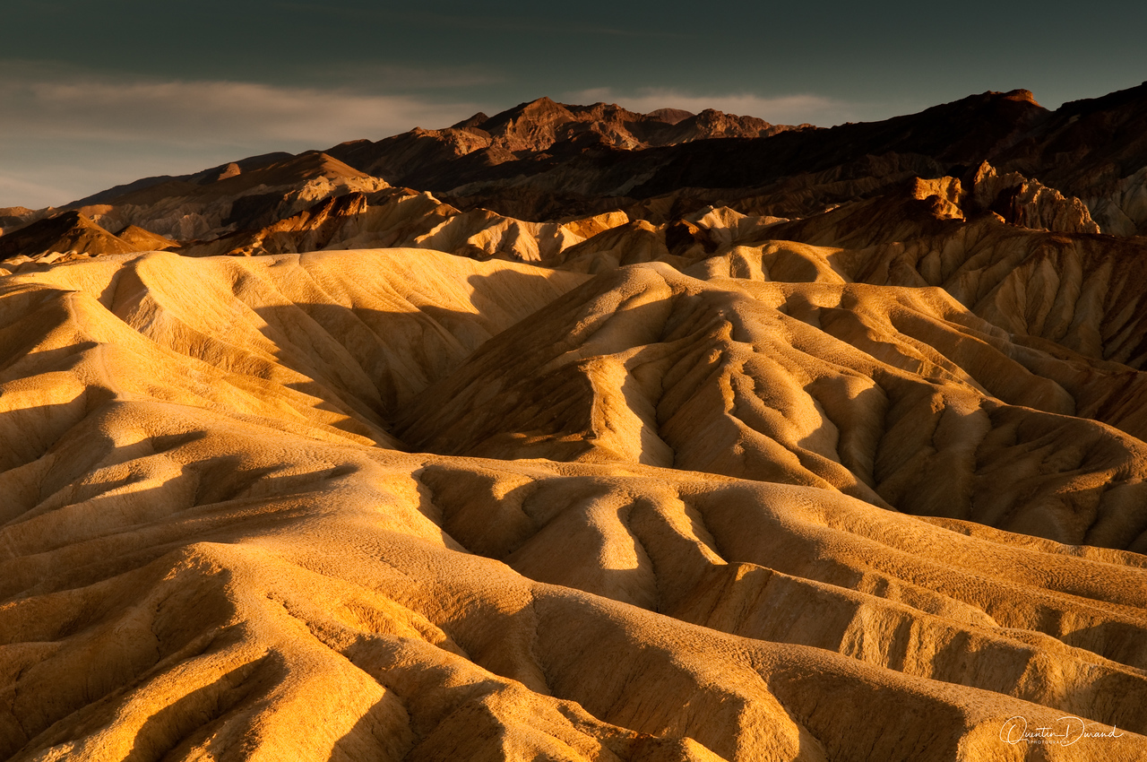 Death Valley - Golden Canyon Rd