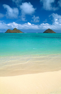 Na Mokulua islands, Hawaii