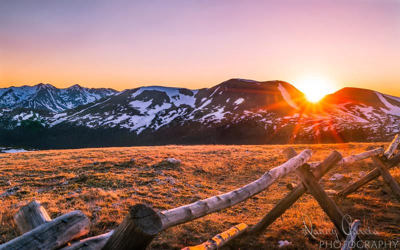 12,000' Sunset