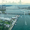 Aerial Panoramic of Miami, Florida